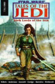 Cover of: Tales of the Jedi