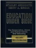 Cover of: Education Under Siege