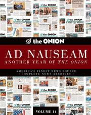"Cover of: ""Onion"" Ad Nauseam"