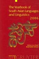 Cover of: Yearbook of South Asian Languages and Linguistics 2006