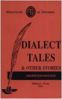 Cover of: Dialect Tales and Other Stories