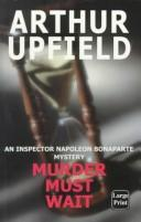 Cover of: Murder must wait
