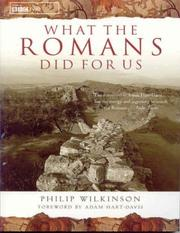 Cover of: What the Romans Did for Us | Philip Wilkinson