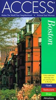 Cover of: Access Boston 5e (Access Boston) | Access Press