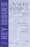 Cover of: On moral sentiments |
