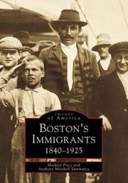 Cover of: Boston's Immigrants