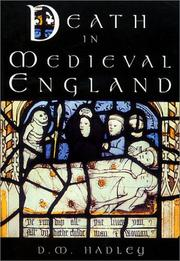 Cover of: Death in Medieval England | D. M. Hadley