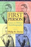 Cover of: First Person