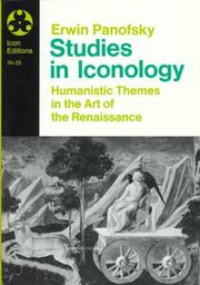 Cover of: Studies in iconology