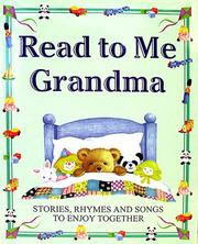 Cover of: Read to Me Grandma (Read to Me)