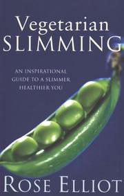 Cover of: Vegetarian Slimming