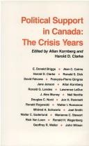 Cover of: Political Support in Canada | Allan Kornberg