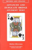 Cover of: Advanced & Duplicate Bridge Student Text