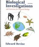 Cover of: Biological Investigations | Edward Devine
