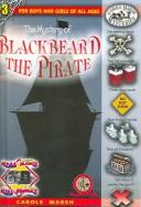 Cover of: The Mystery of Blackbeard the Pirate (Carole Marsh Mysteries) | Carole Marsh