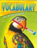 Cover of: Vocabulary for Achievement