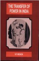 The Transfer of Power in India by V.P. Menon