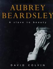 Aubrey Beardsley by David Colvin