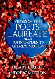 Cover of: Verses of the poets laureate