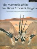 Cover of: The Mammals of the Southern African Sub-region | J. D. Skinner