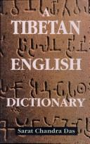 Cover of: Tibetan-English Dictionary