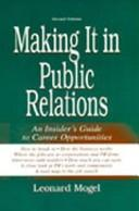 Cover of: Making It in Public Relations