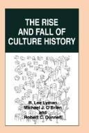 Cover of: Americanist Culture History |
