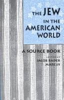 Cover of: The Jew in the American world