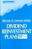 Cover of: Directory of Companies Offering Dividend Reinvestment Plans | Sumie Kinoshita