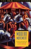 Cover of: The Modern movement |