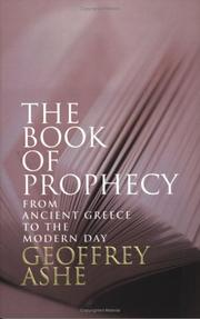 Cover of: The Book of Prophecy | Geoffrey Ashe