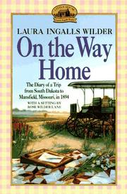 Cover of: On the way home | Laura Ingalls Wilder