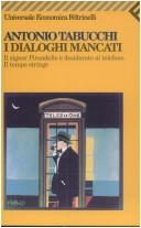 Cover of: I dialoghi mancati
