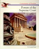 Cover of: The Powers of the Supreme Court