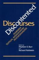 Cover of: Discontented discourses