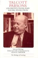 Cover of: Talcott Parsons on Institutions and Social Evolution