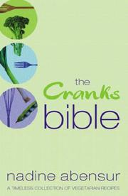 Cover of: The Cranks Bible