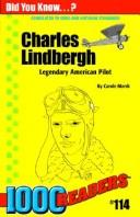 Cover of: Charles Lindbergh | Carole Marsh