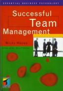 Cover of: Successful Team Management