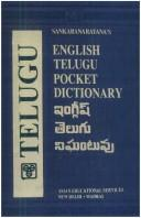 Cover of: English -Telugu  Pocket   Dictionary