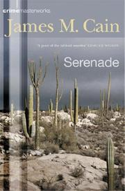Cover of: Serenade