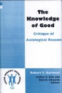 Cover of: The Knowledge of Good