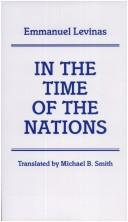 Cover of: In the Time of the Nations | Emmanuel Levinas