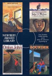 Cover of: Newbery Award Library Box Set: Sounder, Onion John, Julie of the Wolves, It's Like this Cat