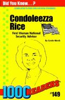 Cover of: Condoleezza Rice | Carole Marsh