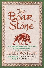 Cover of: The Boar Stone | Julie Watson