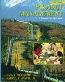 Cover of: Project Management | Jack R. Meredith