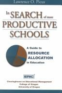 Cover of: In Search of More Productive Schools