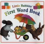 Cover of: Little Rabbit's first word book