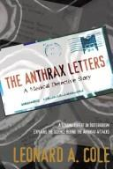 Cover of: The Anthrax Letters: A Medical Detective Story